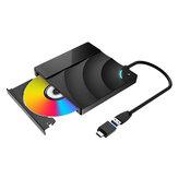 BlitzWolf®BW-VD2 Externí Blu-Ray DVD mechanika 3D 4K přehrávač USB3.0 + porty typu C pro WIN / MAC