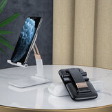 Essager Folding Telescopic Liftable Gravity Adjustable Desktop Mobile Phone Tablet Holder Stand for iPad Air for iPhone 12 XS 11 Pro POCO X3 NFC Mi10