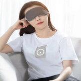 Baseus Occhio di vapore lavabile Maschera Occhio regolabile Maschera Toppe Benda confortevole per viaggi di lavoro a turni Notte sonnellino