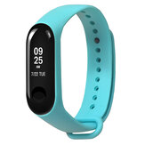 ساعة يد رياضية بديلة ملونة TPE حزام حزام لـ Xiaomi Miband 3 Miband 4 غير أصلية