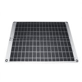 12V/5V 20W Monocrystalline Silicon Solar Panel With Alligator Clip