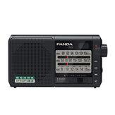 Panda T-01 Radio FM AM SW Three Band Radio Portable Retro Semiconductor Radio