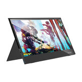 BlitzWolf® BW-PCM6 17.3 Inch Touchable FHD 1080P Type C Portable Computer Monitor Gaming Display Screen for Smartphone Tablet Laptop Game Consoles