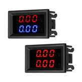 DC 100V 10A Mini Digital Voltmeter Ammeter Voltage Current Meter Tester With Blue /Red Dual LED Display