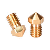 BIGTREETECH® 0.2/0.4/0.6/0.8mm V6 Brass Nozzle for Titan Extruder J-Head