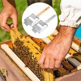 Alça raspadora de garfos de mel de aço inoxidável Bee colmeia destampando Bee ferramentas de manutenção