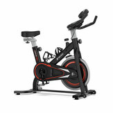 Original              [EU Direct] XMUND XD-EB2 Spinning Exercise Bikes Home Fitness Stationary Gym Bicycle with 8kg Flywheel LCD Monitor Phone Holder Comfortable Seat