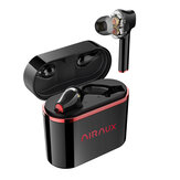 BlitzWolf® AIRAUX AA-UM5 Dual ديناميكي Drivers TWS Earbuds True Wireless Stereo Tap مراقبة ضد للماء Earphone with Type C شحن Case
