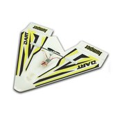Jumper W280 Dart 280mm Apertura alare Indoor Park Flyer Mini Paper RC Airplane BNF per Trainer Principiante
