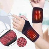 1 Pair of Self-Heating Wrist Brace Sports Protection Magnetic Therapy Tourmaline Arthritis Pain Relief Braces Belt for Health Care Tools