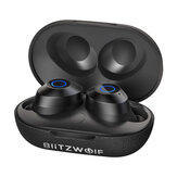 BlitzWolf® BW-FYE5 TWS bluetooth V5.0 Earphone Mini True Wireless Bilateral Call Stereo Headphone with Charging Box