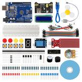 Geekcreit® Starter Kit لـ Arduino UNO R3 ATmega328P مع 15 درسًا تعليميًا متوافق مع Arduino IDE Mixly للمبتدئين
