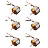 6PCS XXD A2212 1000KV Brushless Motor 2-3S For RC Airplane Quadcopter