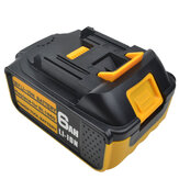 Upgrade 18V Li-Ion 3.0Ah-6.0Ah Battery Rubber Cover Replacement Power Tool Battery with LED Display for Makita BL1830 BL1840 BL1850 BL1860