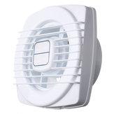 4 Inch Mini Ventilatore di scarico 12W Mini ventilatore a soffietto per la finestra Wall Cucina Bagno WC