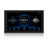T3L For Android 8.1 7 Inch Quad Core Car Stereo Radio 1G+16G Double DIN Player GPS Navigation bluetooth RDS