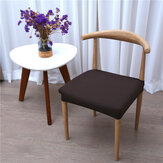 Removable Washable Stretch Chair Cushion Cover Cow Horn Chair Seat Cover Anti-Dust Chair Seat Protector Slipcovers