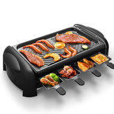 LIVEN KL-J4300 Electric Grill 1200W Knob Control Five Gear Speeds Non-stick Coating Barbecue from Ecological Chain