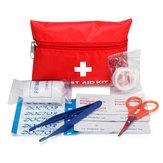 8Pcs Portable First Aid kit Car Emergency Travel Bag