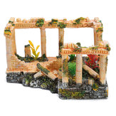 Ancient Roman Ruins Ornament Dollhouse Decoration Gift Toys 23 * 16 * 12,5 cm
