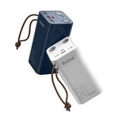 Yoobao 185 Wh 50000 mAh Power Bank PD22.5W luce a led Caricabatterie Ricarica rapida per iPhone 12 Pro Max Mini OnePlus 8Pro 8T Huawei P40 Mate40 Pro