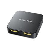 ACASIS HDMI Converter 1 in 2 out Anschluss HD 4K 3D Splitter 1080P Videokonverter HD32