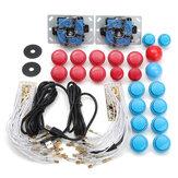 Arcade DIY Kits Delar USB Encoder För PC Joystick Med 20st Knappar