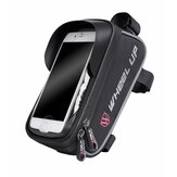WHEEL UP 6inch Front Fingerprint Unlock Bag Waterproof Touch Sceen Phone Holder Bags Tube Pocket