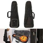 1pcs saco gig estojo mandolin preto para bandolinista música
