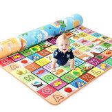 Tapete de brincar de 3 tamanhos para bebês e crianças no chão Tapete de piquenique Almofada para rastejar à prova d'água