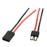 TRX Plug Male Female with 10cm 14AWG Cable for RC Model Car
