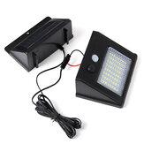 64/48/32 Wasserdicht LED Solarpanel Leistungssensor Wandleuchte Außen-Gehweglampe mit 2,5 m Kabel