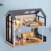 CUTE ROOM Miss Happeiness Theme DIY zmontowany domek dla lalek z pokrywą dla dzieci zabawki