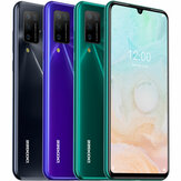 DOOGEE N20 Pro Global Version 6.3 inch FHD + Waterdrop Display Android 10 4400mAh 16MP Quad achteruitrijcamera 6GB 128GB Helio P60 Octa Core 4G Smartphone
