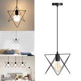 E27 Vintage Ceiling Licht Hanger Lamp Fixture Kroonluchter Cage Lampscherm