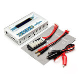 EV-Peak C1 50W 6A DC Balance Charger for LiPo LiIon LiFe NiCd NiMH Battery