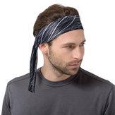 COTEO Polyester Sports Sweat-Absorbent Headband