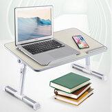 Mesas de mesa ajustáveis com ventilador de refrigeração Laptop Notebook Stand dobrável