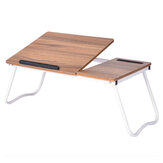 Foldable Laptop Stand Desk Lap Bed Table Tray Computer Portable Adjustable Height Table for Children Student Home