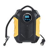 12V 150 PSI Mini compressore pompa d'aria portatile Pneumatico portatile per auto Intelligent Digital Display Pompa gonfiabile elettrica