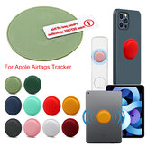 Portable Pure Silicone Protective Cover Sleeve for Apple Airtags bluetooth Tracker