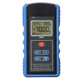 TM203N 650nm 0.01dbm Optical Power Medidor de Luz Vermelha FC SC Adapter Fonte LCD Tester Detector