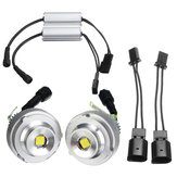 2 STKS 20 W LED Angel Eyes Lights Halo Ring Bulb 45 cm Wit voor BMW E60 528i 535i LCI