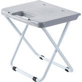Simple Folding Stool Portable Folding Stool Adult Plastic Small Chair for Home Office