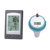 remoto sem fio flutuante Termômetro Natação Piscina Banheira de hidromassagem Spa Medidor de temperatura da água