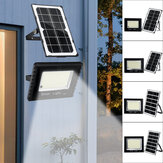 236/410/600 / 988LED Solar Flood Light Glass Style Lichtsteuerung Outdoor Garden Street Wandleuchte + Fernbedienung