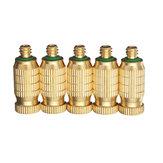 Brass Misting Nozzle 1010/1510/2010/3010/4010/5010 3/16 Inch Thread