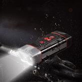 2xL2 7000KLED自転車ヘッドライト無限調光5モード360°回転IP65防水バイクライトUSB充電ナイトライディング