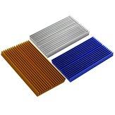 100 * 60 * 10mm Alumínio PCB Radiador Do Radiador Do Dissipador De Calor Para DLP UV 3D Impressora LED Circuito Integrado Eletrônico