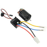 540 Motor 60A ESC Carbon Brushed Shaft 3.175mm Voor 1/10 RC Car